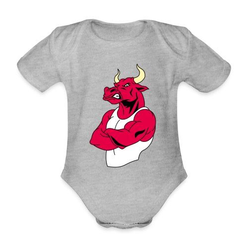 adhex toro - Body orgánico de maga corta para bebé
