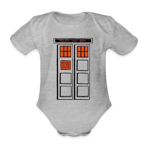 Bigger on the Inside! - Baby Bio-Kurzarm-Body