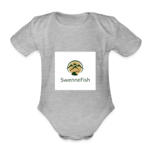 Logo 25 - Baby bio-rompertje met korte mouwen
