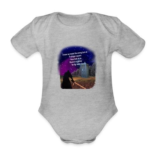 Bad Parking - Organic Short-sleeved Baby Bodysuit
