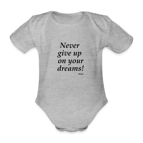 From mom - Ekologisk kortärmad babybody