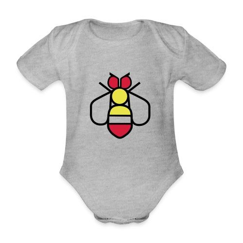 Bee - Organic Short-sleeved Baby Bodysuit