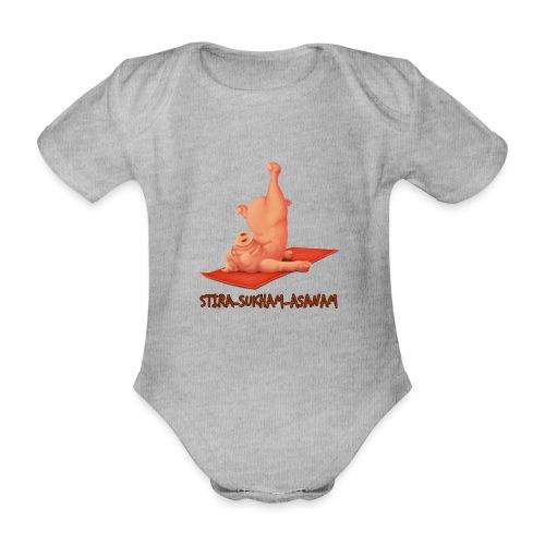 Schweindi-Stira-Sukham - Baby Bio-Kurzarm-Body