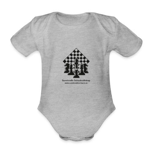 Sundsvalls Schacksällskap - Ekologisk kortärmad babybody