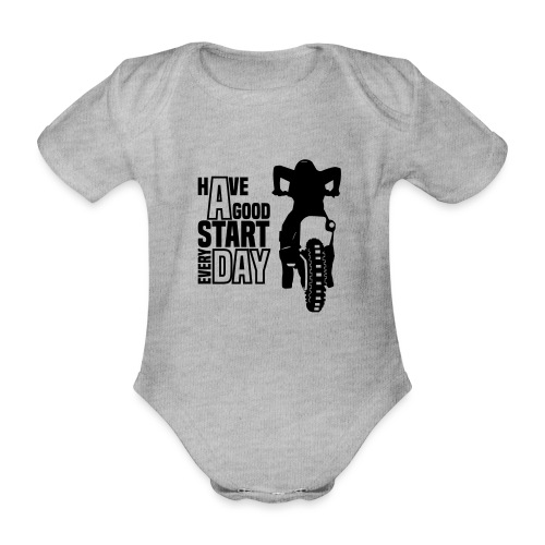 Have a good Start MX (HQ) - Baby Bio-Kurzarm-Body