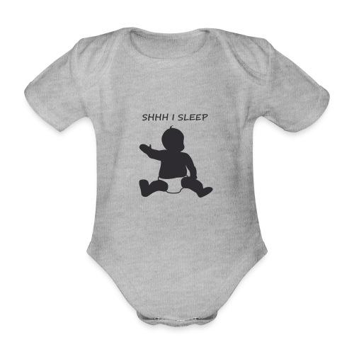 SHH I SLEEP - Body bébé bio manches courtes