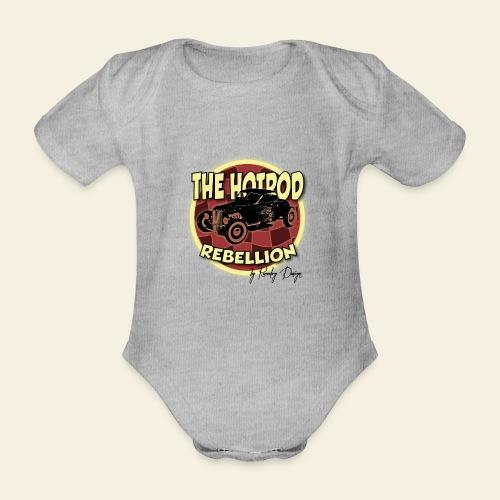 hotrod rebellion - Kortærmet babybody, økologisk bomuld