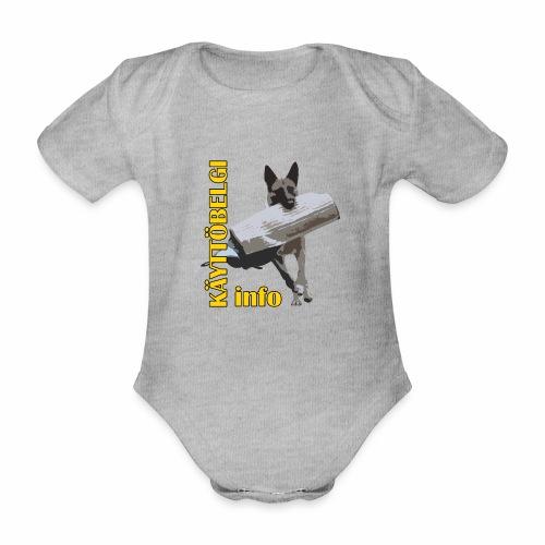 Käyttöbelgi.infon logotuotteet - Vauvan lyhythihainen luomu-body