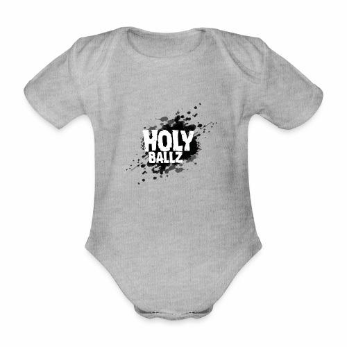 Holy Ballz - Organic Short-sleeved Baby Bodysuit