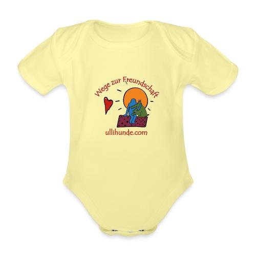 Ullihunde - Wege zur Freundschaft - Baby Bio-Kurzarm-Body