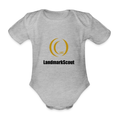 Tshirt Yellow Front logo 2013 png - Organic Short-sleeved Baby Bodysuit