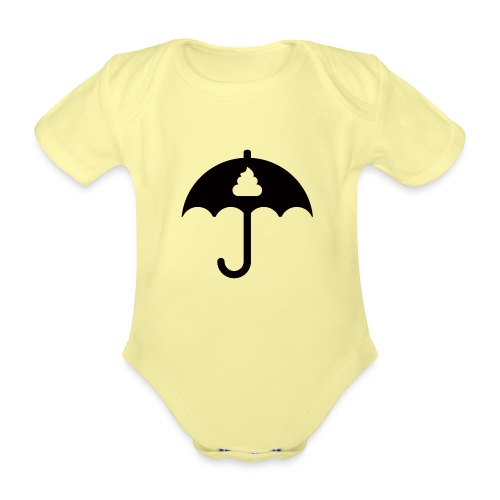 Shit icon Black png - Organic Short-sleeved Baby Bodysuit