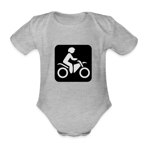 motorcycle - Vauvan lyhythihainen luomu-body
