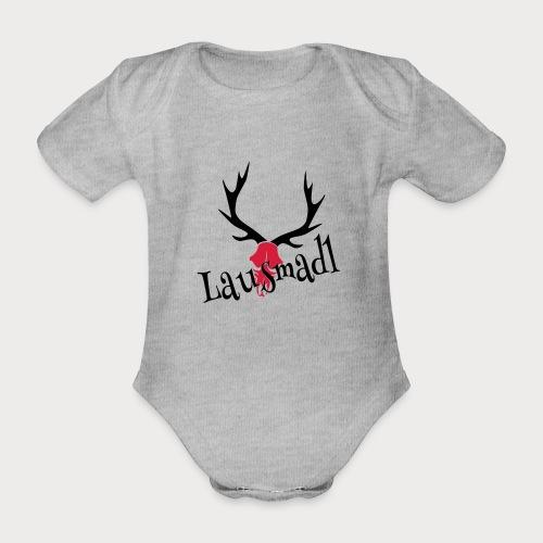 lausmadl hirsch - Baby Bio-Kurzarm-Body