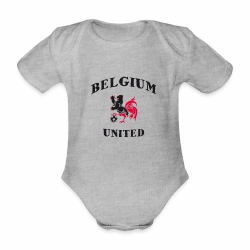 Belgium Unit - Organic Short-sleeved Baby Bodysuit