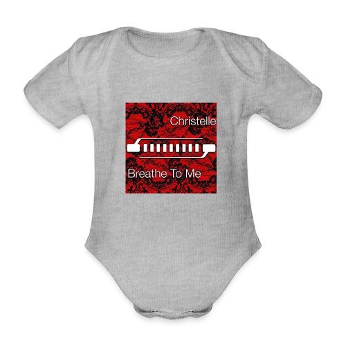 Christelle Album Breathe To Me official T Shirt - Organic Short-sleeved Baby Bodysuit