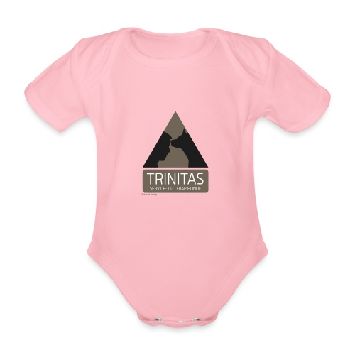 Trinitas Nøglesnor - Kortærmet babybody, økologisk bomuld