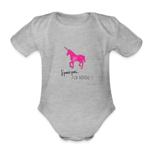 Tetee ! - Body bébé bio manches courtes