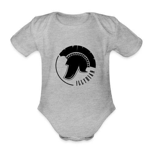 Illyrian Helmet Patrioti - Baby Bio-Kurzarm-Body