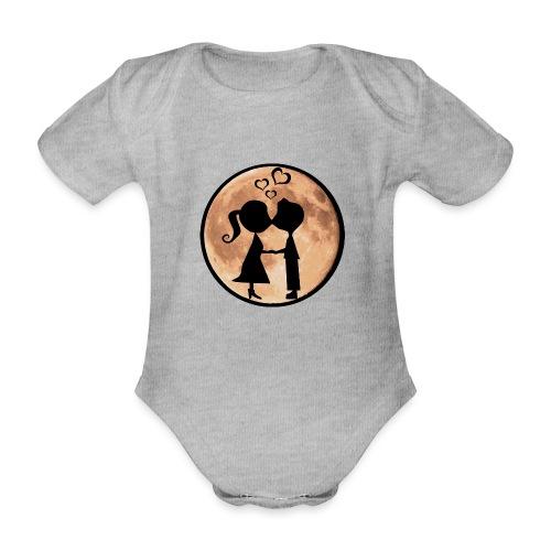 Isle under the Moon - Organic Short-sleeved Baby Bodysuit