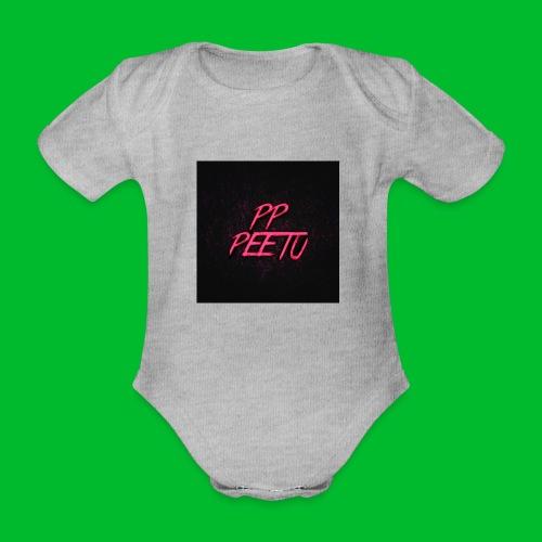 Ppppeetu logo - Vauvan lyhythihainen luomu-body