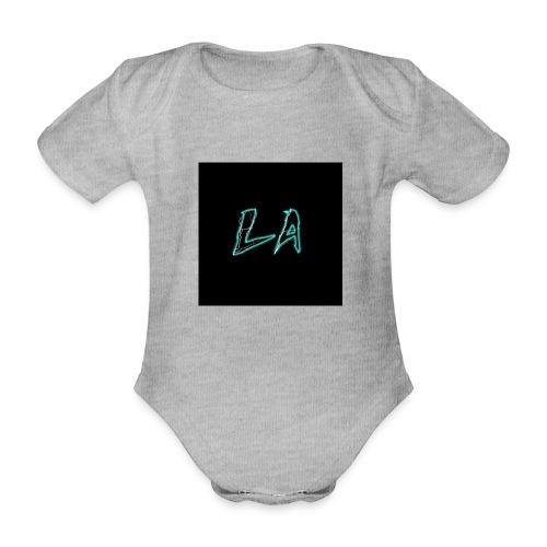 LA 2.P - Organic Short-sleeved Baby Bodysuit