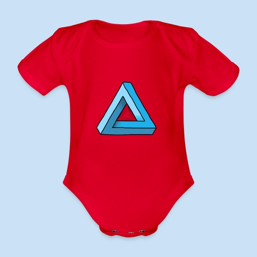 Triangular - Baby Bio-Kurzarm-Body