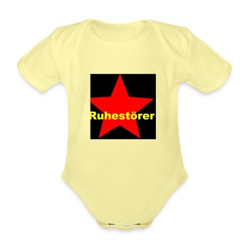 Ruhestörer - Baby Bio-Kurzarm-Body