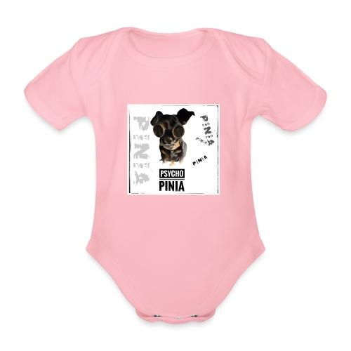 Psycho Pinia - Baby Bio-Kurzarm-Body