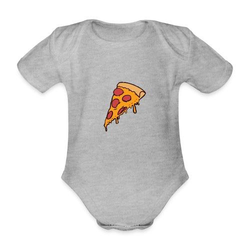 Pizza - Body orgánico de maga corta para bebé