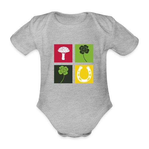 Just my luck Glück - Baby Bio-Kurzarm-Body