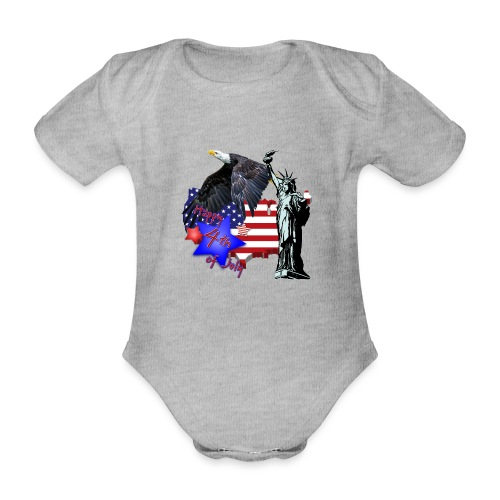 Independence Day - Baby Bio-Kurzarm-Body