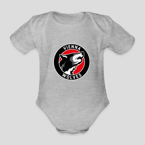Wolves Logo 2019 - Baby Bio-Kurzarm-Body