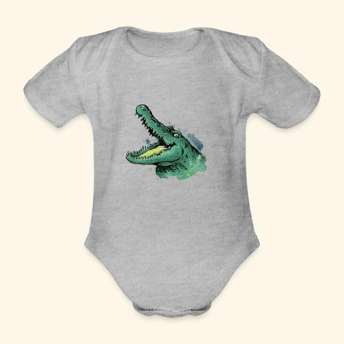 KOKoDriLiTo Kutuxa - Body orgánico de maga corta para bebé
