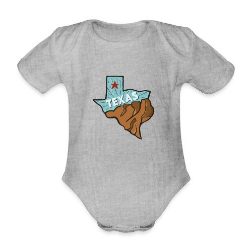 Texas - Baby Bio-Kurzarm-Body