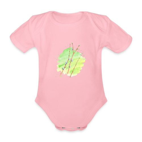 Weidenkätzchen - Baby Bio-Kurzarm-Body