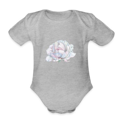 White Rose - Baby Bio-Kurzarm-Body