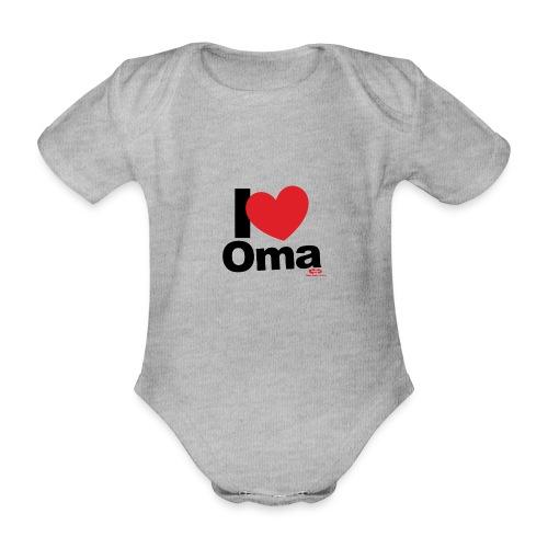 I Love Oma - Baby Bio-Kurzarm-Body