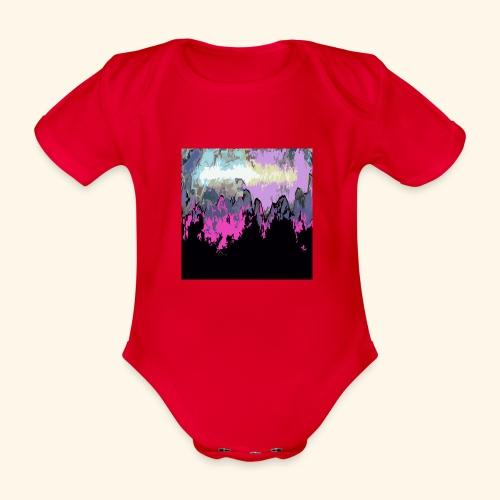 Macchia - Body ecologico per neonato a manica corta