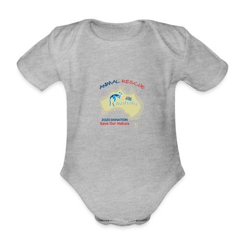 Australien - Spendenaktion - Animal Rescue - Baby Bio-Kurzarm-Body