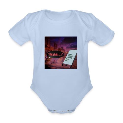 Tel Aviv is calling - Sehnsuchtsorte - Baby Bio-Kurzarm-Body