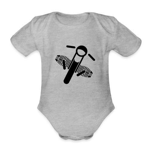 Motorrad Fahrer Shirt Boxerbike - Baby Bio-Kurzarm-Body