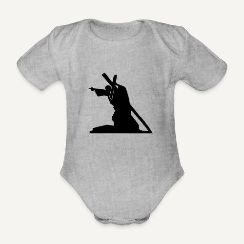 Sursum corda 3 - Ekologiczne body niemowlęce z krótkim rękawem