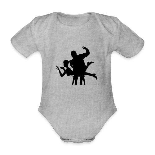 spanking - Baby Bio-Kurzarm-Body