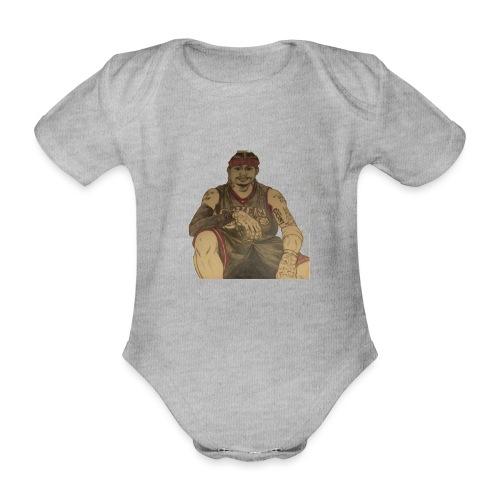 jugador - Body orgánico de maga corta para bebé