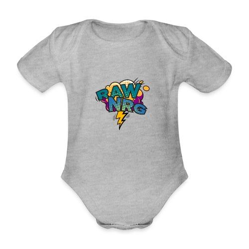 Raw Nrg Comic 1 - Organic Short-sleeved Baby Bodysuit