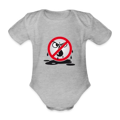 Erdöl Nein danke - Baby Bio-Kurzarm-Body