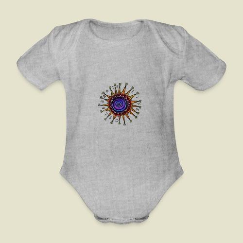 Celebrate Life Mandala - Baby Bio-Kurzarm-Body