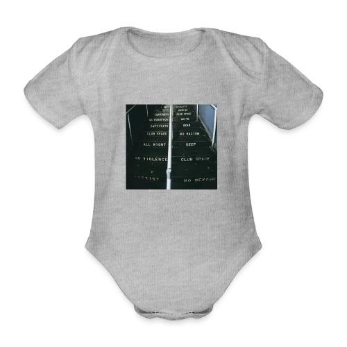 lawsoftechno - Baby bio-rompertje met korte mouwen