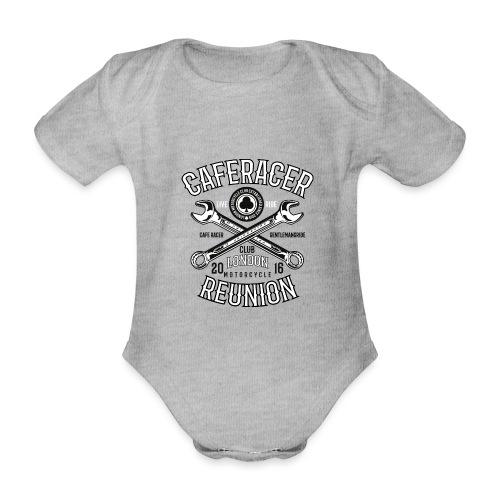Caferacerreunion - Organic Short-sleeved Baby Bodysuit